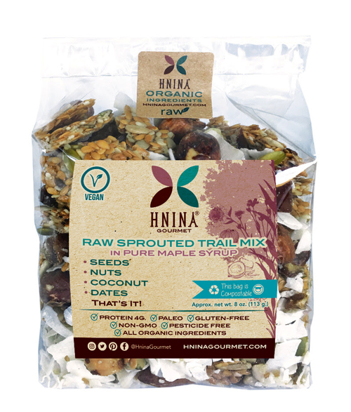 HNINA GOURMENT Raw Sprouted Trail Mix