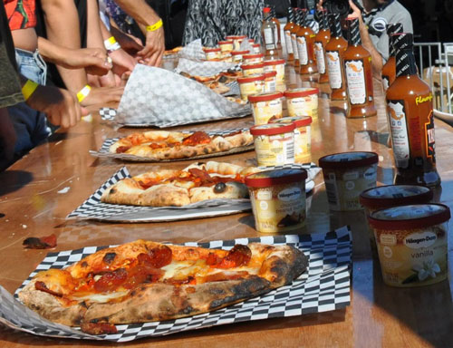 California Hot Sauce Expo's Spicy Pizza of Doom Challenge