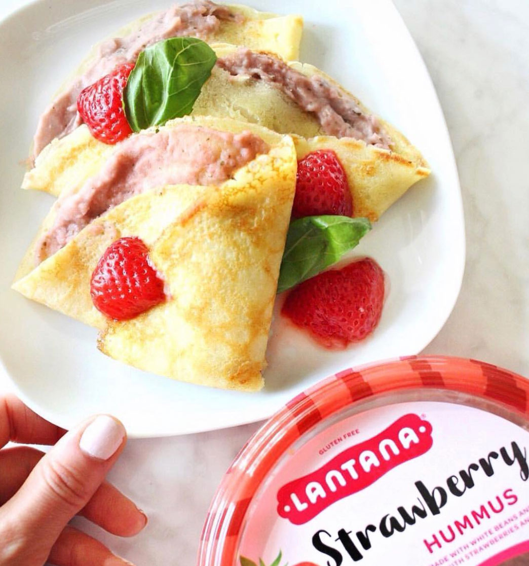 Lantana Strawberry hummus