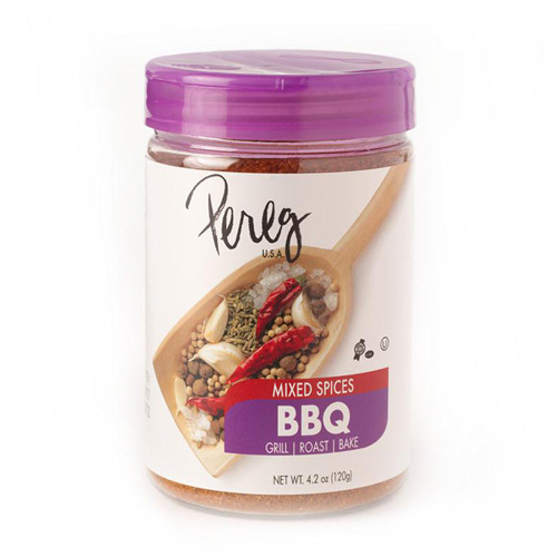 Pereg Natural Foods is one of the first to offer its Mixed Spice BBQ, a unique blend of spices for the most flavorful grilling, roasting, and baking