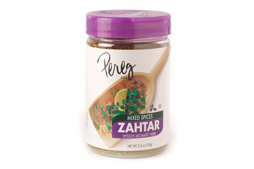 Pereg's Everything Bagel Spice Mix joins the company's line of on-trend seasoning, including its recently introduced Zahtar Spice Blend