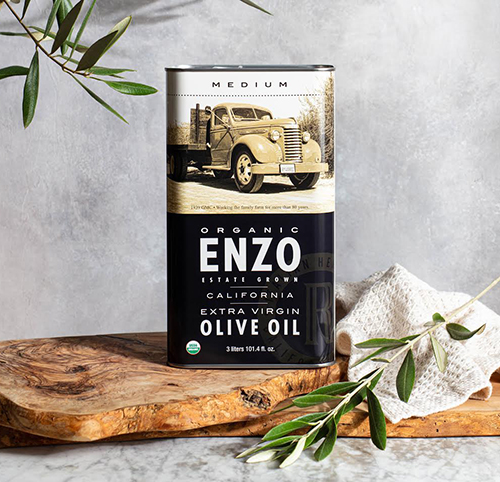 ENZO Olive Oil Company is meeting high demands as it recently released a new 3 liter tin of olive oil for people interested in buying in bulk and stocking up on their ingredients at home