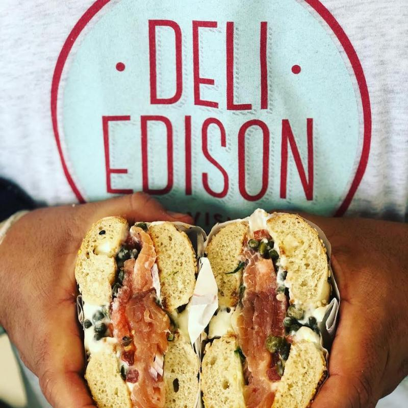 Deli Edison's new operating space allows Sam Suchoff and his partners room to experiment and create new products