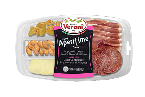 Launching this month, Veroni Salumi's new party trays will be distributed across key American retail chains