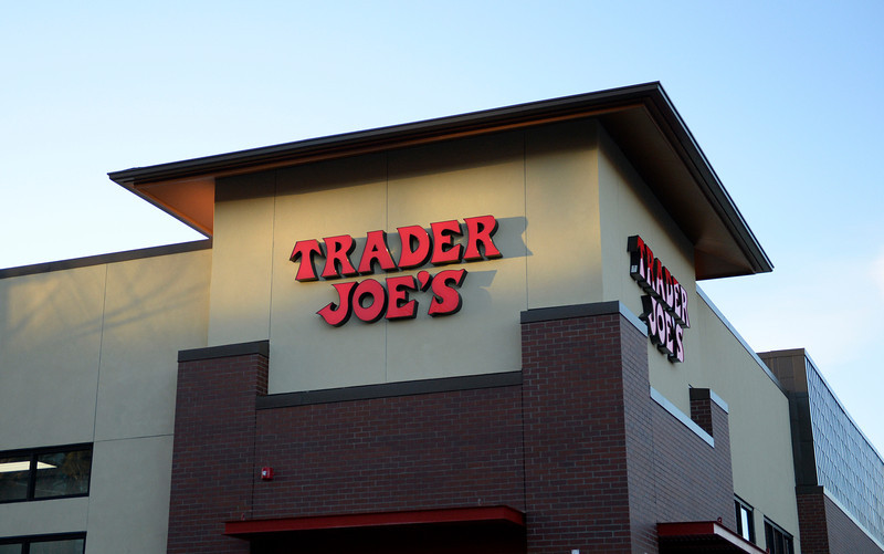 Trader Joe's patrons will be seeing more of the pretty red font on the East Coast