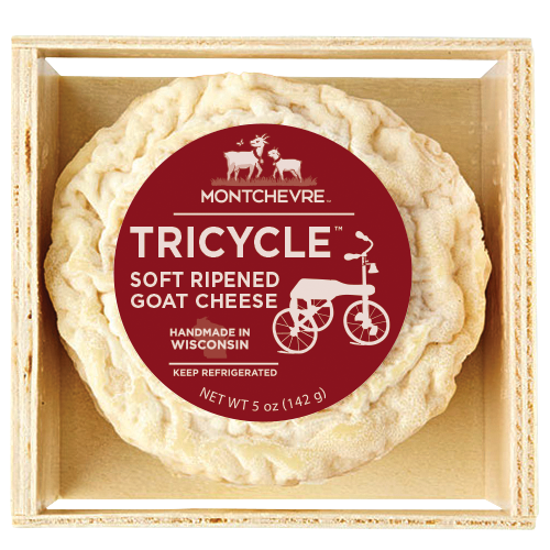 Saputo Cheese's Montchevre® brand won the Silver award for its Tricycle™ Goat Cheese in the Non-Cow Milk, Mixed Milk category