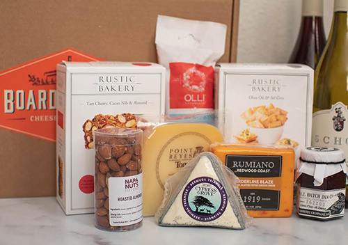 Rumiano Cheese Company's program, Board at Home, has launched a nationwide expansion of its curated kits of artisanal cheese and charcuterie