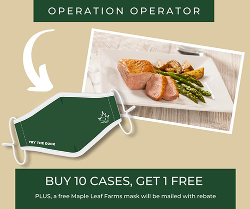 In order to bring the most value to its partners, restaurant operators, and caterers, Maple Leaf Farms has expanded upon its Operation Operator program