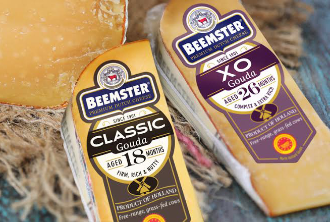 Beemster's new labels were designed to appeal to today's specialty cheese consumers and celebrate its award-winning cheeses