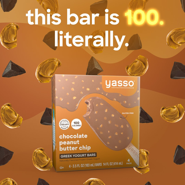 Yasso recently reformulated its Frozen Greek Yogurt bars to be 100 calories or less