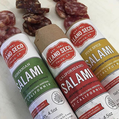 Rancho Llano Seco has announced a lineup of its delicious salamis inspired by varieties and flavors from across the globe
