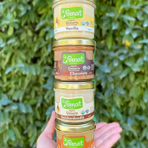 St. Benoit Creamery announced it will be expanding the availability of its line of sofi™ Award-winning organic desserts with new retail partners Balducci's and Kings Food Markets, Northbay Creameries, online at Imperfect Foods, and Amazon Fresh later in the year