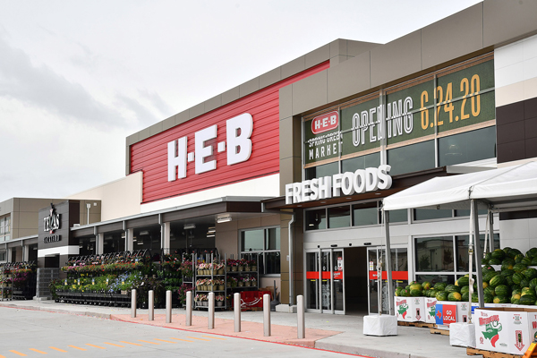 Both San Antonio and Lubbock, Texas, will be the new sites of H-E-B's new locations, each a whopping 122,000 square feet