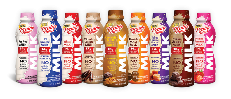 Prairie Farms recently partnered with the Humana Kentucky Derby miniMarathon and Marathon, offering runners chocolate milk to better power their race