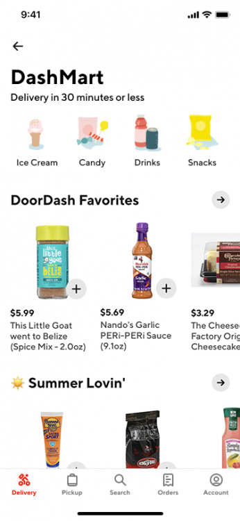 DoorDash's brand-new format is currently available in 8 cities, including Chicago, Minneapolis, Columbus, Cincinnati, Dallas, Salt Lake City, the greater Phoenix area, and Redwood City, CA
