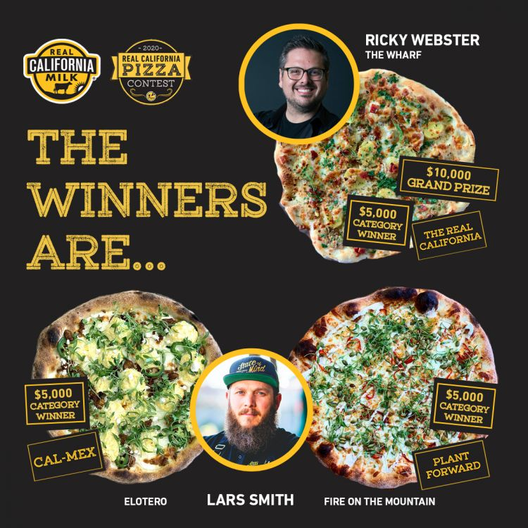 The California Milk Advisory Board (CMAB) recently took the beloved food and created a bake-off to award two contestants with a cool $25,000 as part of its 2020 Real California Pizza Contest