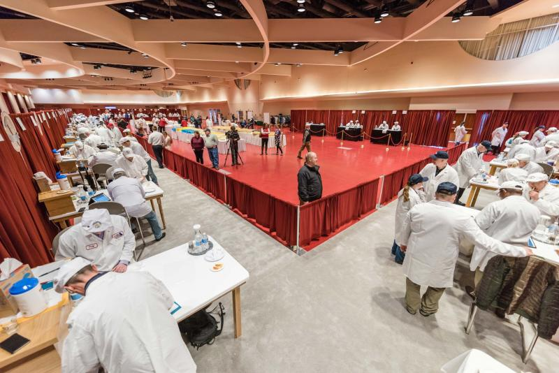 The World Championship Cheese Contest has a record-breaking 3,667 entries in this 2020 competition