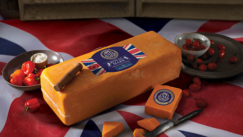"According to Whole Foods, the ""Royal Addition Cheese,"" which will be a Westminster Royal Mark red cheddar cheese, is made of the highest quality in Southwest England and pays homage to both rustic English cheeses and the cultures of the Duke and Duchess (Photo: Whole Foods)"
