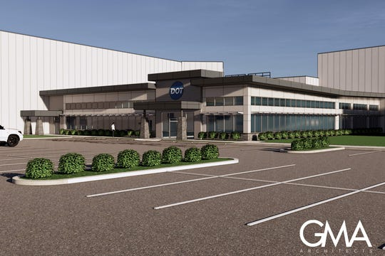 The facility will be roughly 200,000 square feet and will employ 100 people from around the area