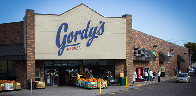 Gordy's Market. Photo credited to VolumeOne.Org.