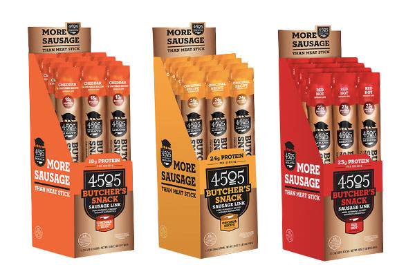 4505 Meats recently introduced its latest line, 4505 Butcher's Snacks, to capitalize on rising demand for convenience