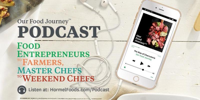 The podcast is hosted by esteemed American journalist and author Ethan Watters and Certified Master Chef Ron DeSantis