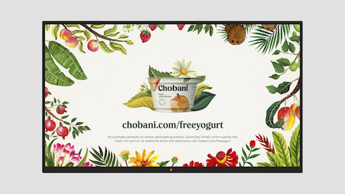 Visit Chobani.com/freeyogurt to print your coupon and celebrate the company's 10 year anniversary with a free yogurt item