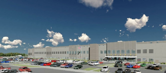 The distribution center is estimated to provide 1,250 new jobs to the area