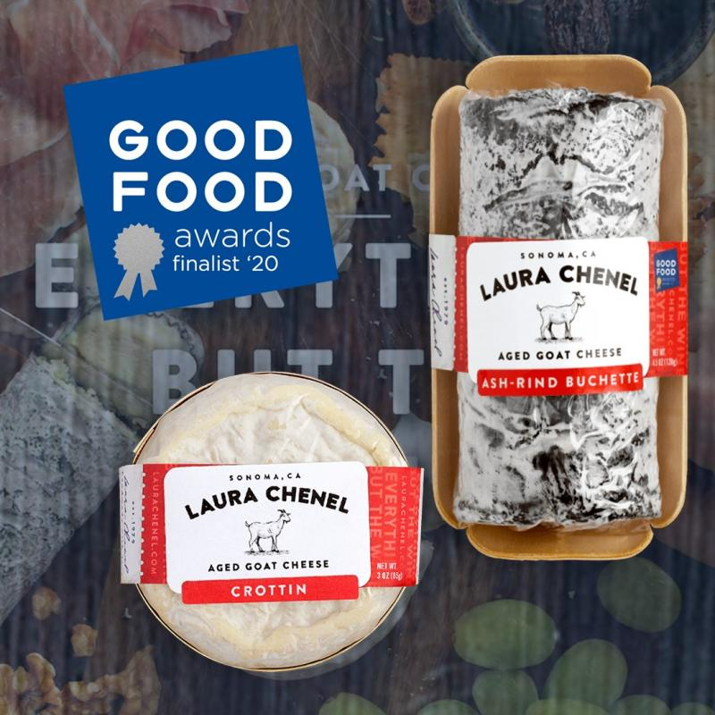 Laura Chenel took home top honors for its Laura Chenel Crottin, a member of the cheesemaker's aged cheese line