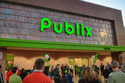 Publix nabbed the second spot on the list for the second year in a row