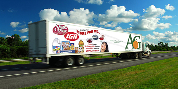 Associated Grocers of Florida, Inc. Truck
