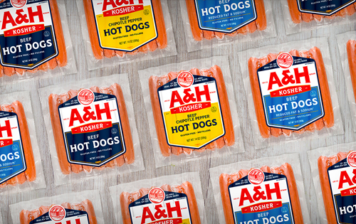 Abeles & Heyman's recently rebranded hot dog line