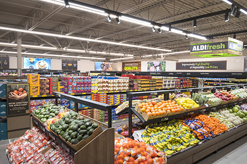 Aldi is increasing its fresh food selections by 40 percent