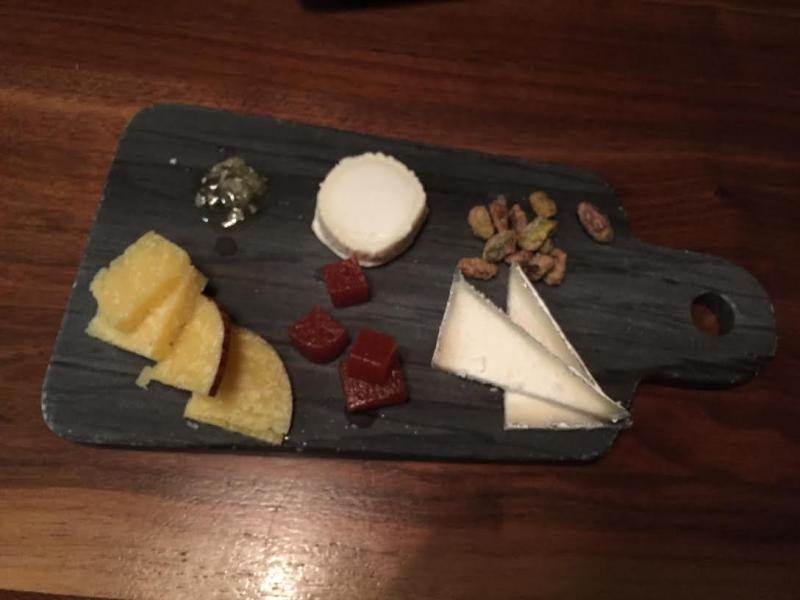 From left to right: Vella Cheeses' Vella Dry Jack, Vermont Creamery's Bijou, and Cypress Grove's Bermuda Triangle