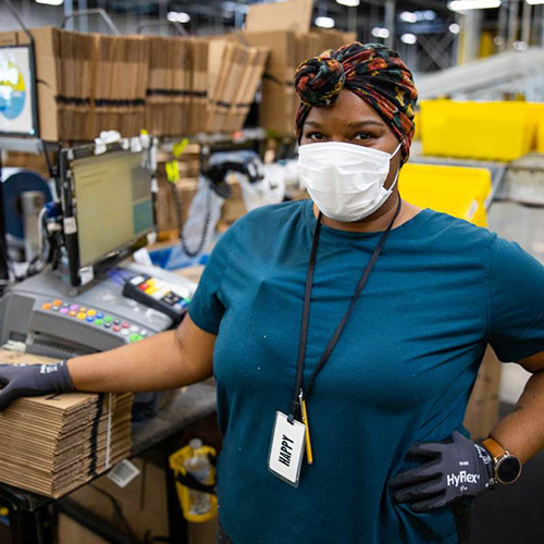 """Amazon is dropping another half billion ($500 million), this time as """"Thank You Bonuses"""" to front-line workers who were with the company throughout the month of June (Photo: Amazon)"""