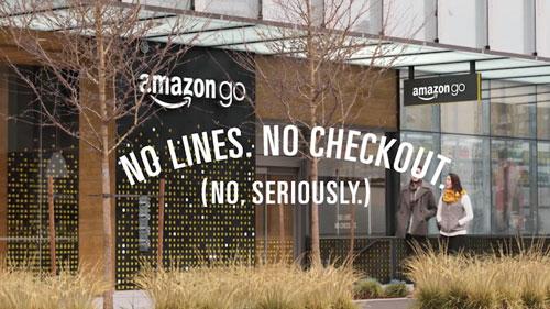 Amazon Go Store Concept
