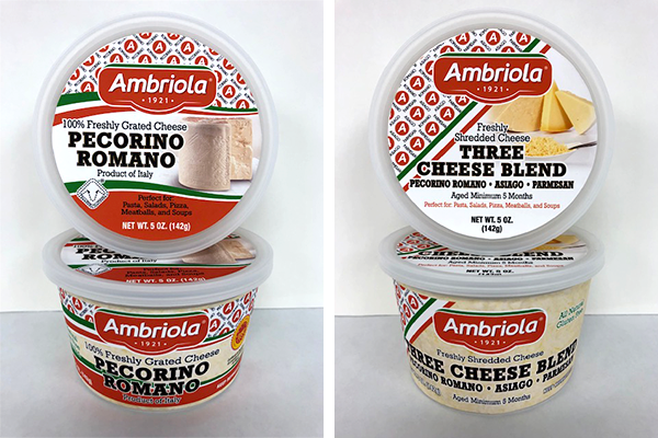 The Ambriola Company recently launched a new line of cups and wedges to better support what consumers are looking for at market
