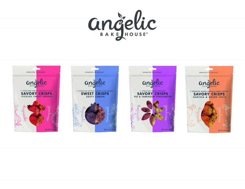 Per serving, Angelic Bakehouse Crisps provide two-times the protein, three-times the fiber and nearly 50 percent fewer net carbs than the leading dipping chip