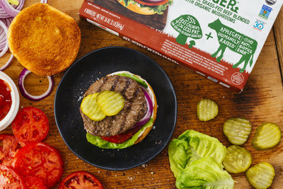 Applegate recently launched its The Great Organic Blend Burger™, a 100 percent grass-fed beef and mushroom combo, that supports its mission to cater to sustainability-conscious consumers