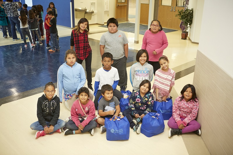 Applegate and Conscious Alliance provided more than 7,000 meals for students on the Pine Ridge Reservation in South Dakota