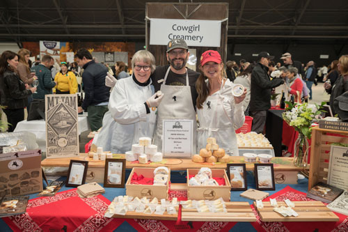 The California Artisan Cheese Festival brings together the top California cheesemakers, artisan producers, authors, chefs, brewers, winemakers, and turophiles