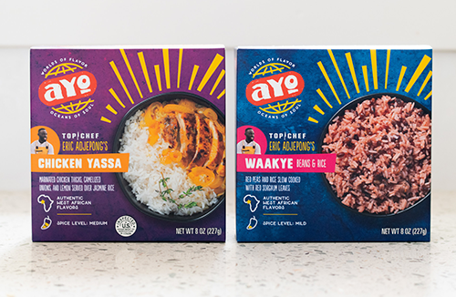 Kroger teamed up with AYO Foods, a premium frozen food brand, to bring authentic and delicious flavors of West-African inspired meals in Kroger and Kroger-owned banners nationwide
