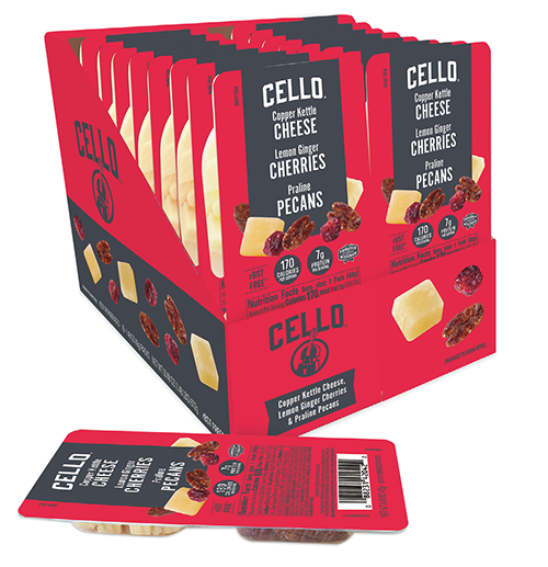 Schuman Cheese recently announced the launch of its Cello Snack Packs from its flagship brand, Cello