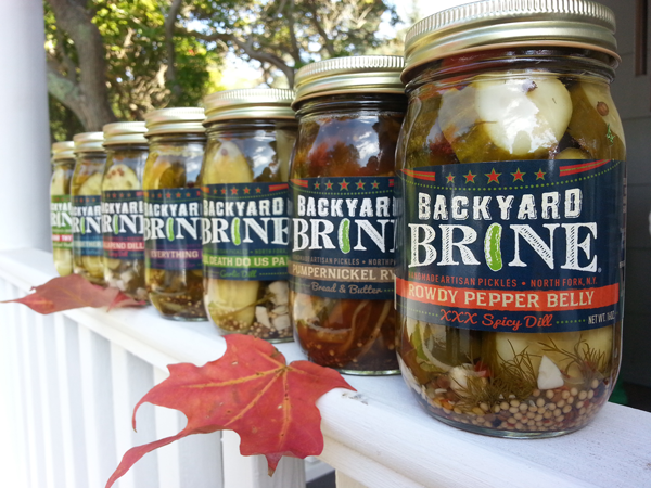 Backyard Brine is adding a few holiday items to its already expansive all-natural lineup