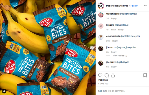 Instagram accounts like traderjoesglutenfree are proving to be Trader Joe's secret promotional weapon and strategy