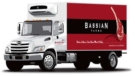 Bassian Farms has, for over 25 years, provided Northern California's restaurants with high quality pork, beef, poultry, and seafood products