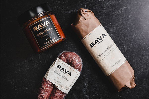 Founded in 2011 by brothers Steven and Eric Bava, BAVA Brothers produces a gourmet line of sopressata foodstuffs that are based on a family recipe from Calabria, Italy
