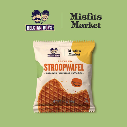 Belgian Boys recently announced that it will be teaming up with Misfits Market to launch its new upcycled stroopwafel