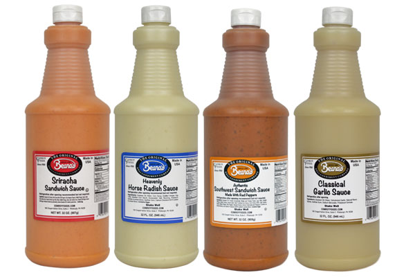 Conroy Foods offers non-separating condiments and sauces specifically designed for foodservice applications
