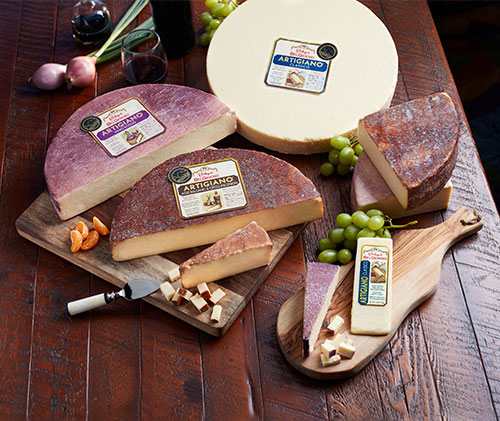 Belgioioso's artisan cheese line, Artigiano Cheese, is a perfect addition to any charcuterie board
